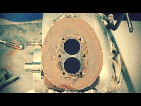 Reparar y limpiar motor ISO monocilindrico de dos pistones