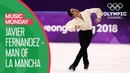 Javier Fernandez' Bronze Medal performance at PyeonChang 2018  Music Monday