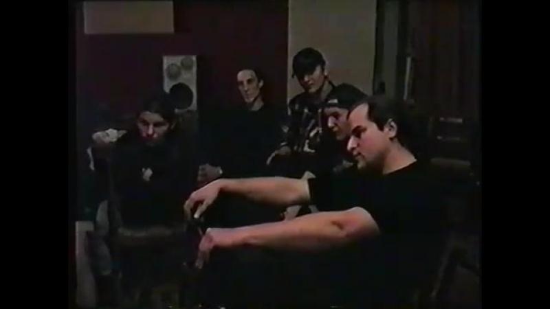 An Interview with the Moscow Bands Death Vomit Mortem (Sarov, Nizhny Novgorod Region, March 11, 1995)