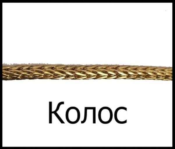 золотые цепочки виды плетения фото