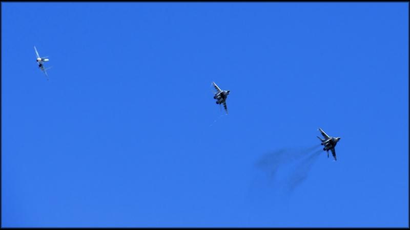 Воздушный бой МиГ-29СМТ и Су-30СМ