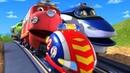 Паровозики из Чаггингтона (Chuggington) - Быстрее ветра/ мультики для детей про транспорт и паровозы