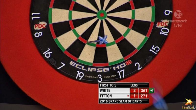 Ian White vs Darryl Fitton (Grand Slam of Darts 2016 / Group D)