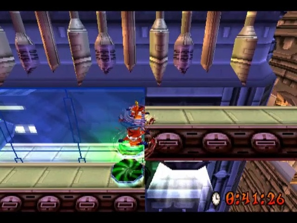 [PS1USA] Crash Bandicoot 3 Warped - 49. Level 19 Future Frenzy 2 [Platinum Relic]