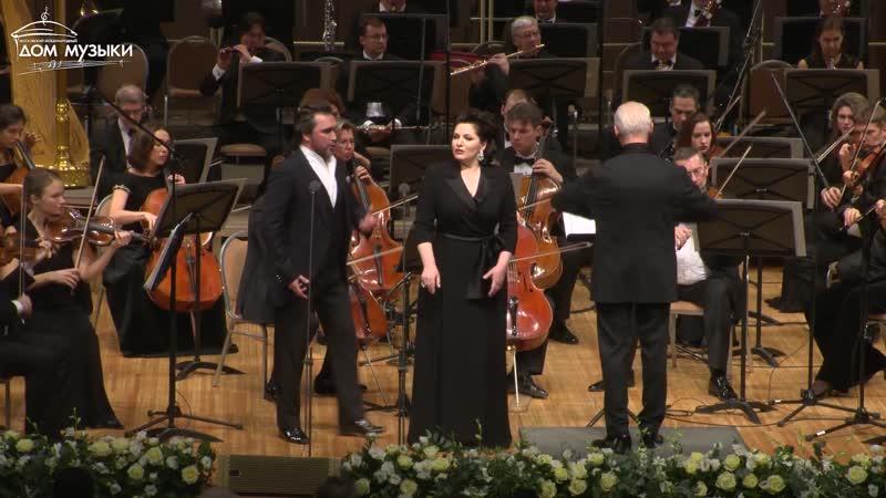 Hibla Gerzmava and Alexey Tatarintsev G.Donizetti. Duet Anna Bolena and Riccardo Percy