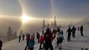 Явление ангела сняли на видео лыжники в Швеции