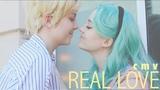 SAILOR MOON CMV Real Love Michiru + Haruka Neptune + Uranus