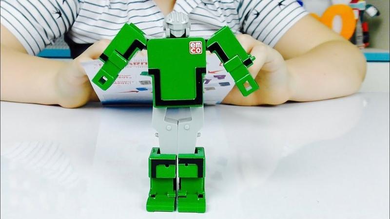 ТРАНСБОТЫ Распаковка Игрушки ТРАНСФОРМЕРЫ в лизуне Ready2Robot и Машинки ТОБОТЫ