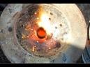 Турбо печь для обжига горной породы и плавки золота