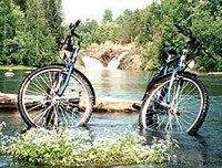"""Схема вышивки  """"2 велосипеда """": схема."""