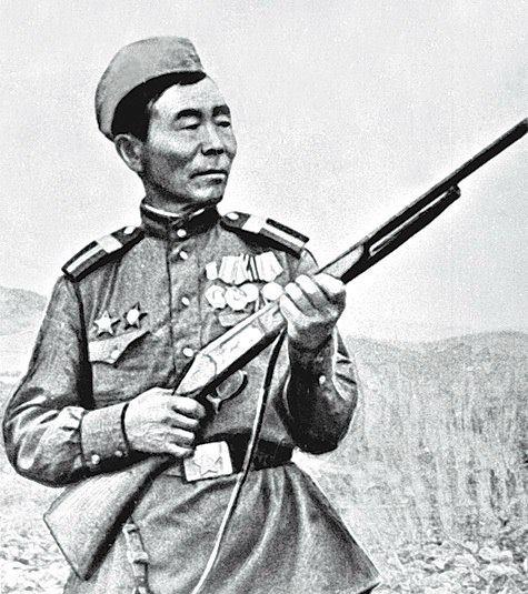 Семён Номоконов (Сибирский шаман). Снайпер.