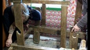 Setting Up a LOOM for Weaving the Traditional Way