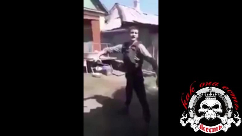 Слабоумие и отвага бойца ЛНР!