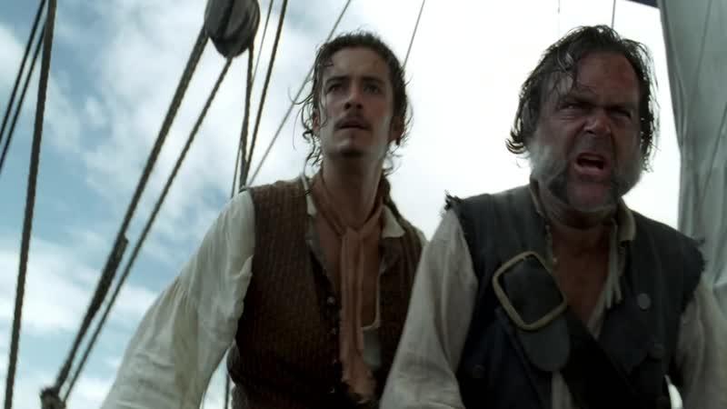 Пираты Карибского Моря.Проклятие Черной Жемчужины 2003 г (Нападение Черной Жемчужины)