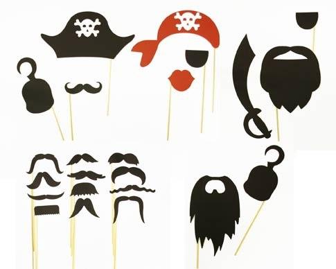 Шаблоны для пиратской вечеринки своими руками