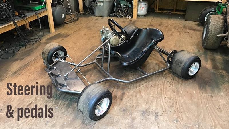 Building A YZ85 shifter kart part 2