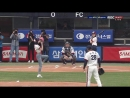 · Press-Media · 180708 · OH MY GIRL (Binnie and Hyojung) · Бейсбольный матч Doosan vs Samsung ·