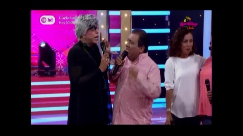 Andrea Fernanadez Biana Botto Manolo Rojas y Silvia Bardales en Ojitos lechuceros