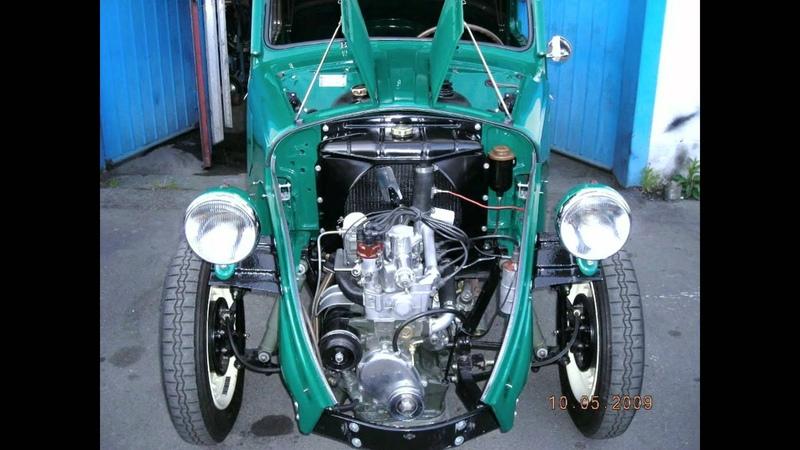 FIAT 500 Topolino B års mod. 1948 renovering Huskvarna Sweden.