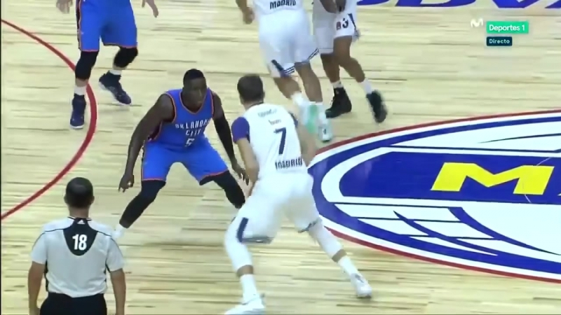 17 years old Luka Doncic vs. Russell Westbrook