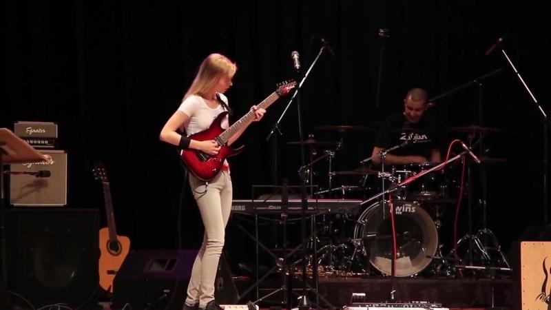 Summer presto guitar cover Laura, classical, antonio vivaldi metal