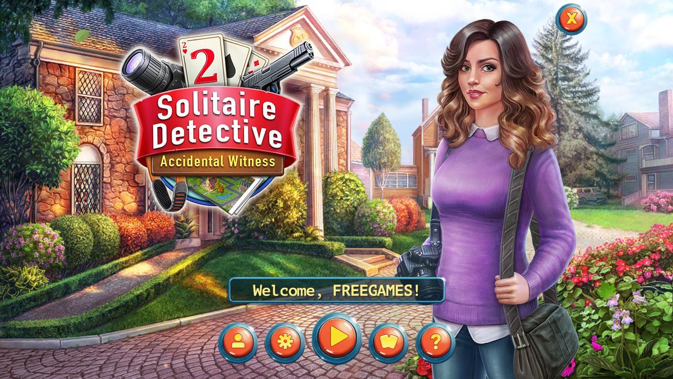 Пасьянс Детектив 2: Случайный свидетель | Solitaire Detective 2: Accidental Witness (En)