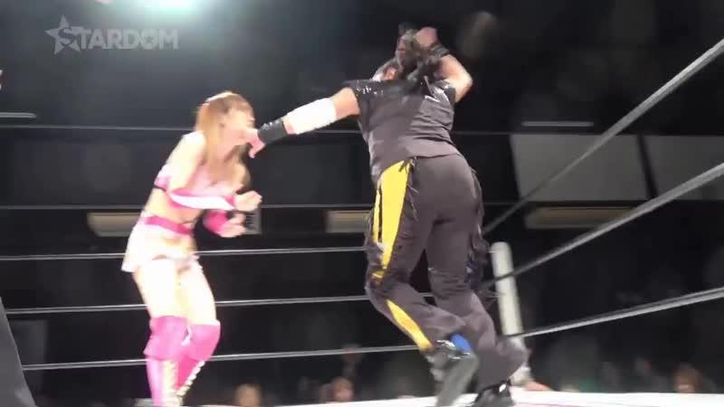 Mary Apache (c) vs. Saki Kashima