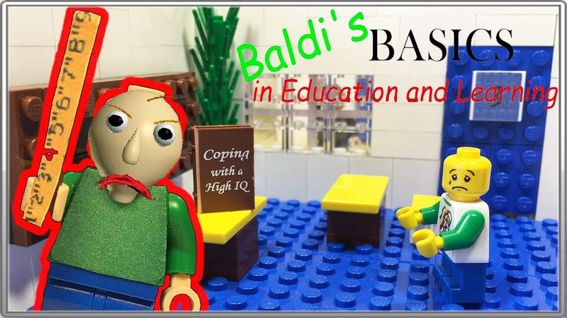 LEGO Мультфильм Baldi Baldi's Basics in Education and Learning LEGO Stop Motion