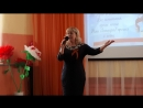 3.05.2018г. Уфа. Поёт директор ДДТ «Дружный» Советского района Арсланова Л.Б.