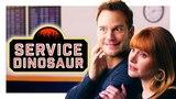 My Dinosaur Is a Service Animal (with Chris Pratt and Bryce Dallas Howard!)