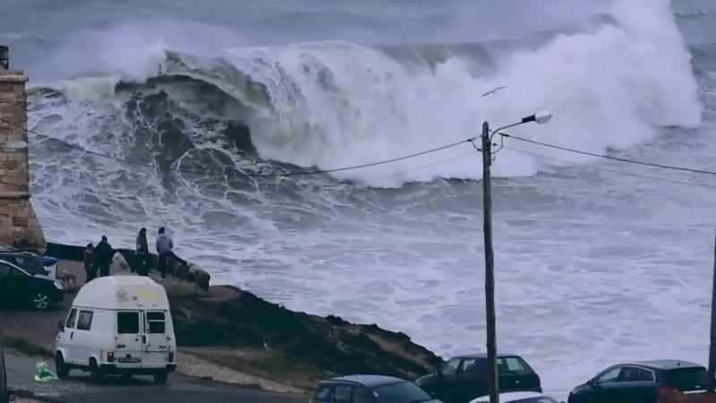 Самые большие волны в мире_ Назаре Португалия