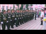 Торжественное принятие присяги курсантами военной кафедры КазНМУ