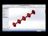 SolidWorks 2012 - Элемент Зеркальное отражение !!! Video Tutorials