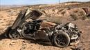 POLICE FIND CRASHED MCLAREN 720S IN NEVADA DESERT