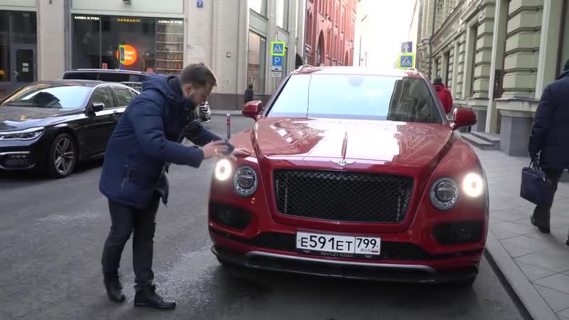 Bentley Bentayga V8 - 4.0 550 лс и 4,5 сек до 100 км-ч - Обзор и Тест