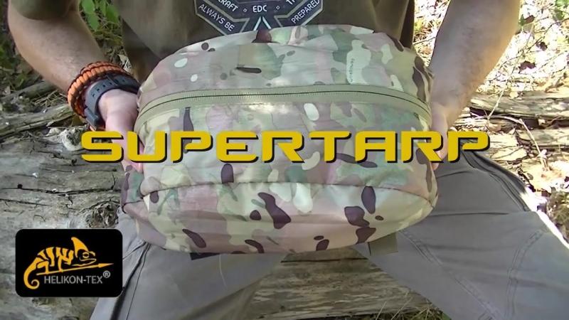 SUPERTARP HELIKON un tarp para el gigante verde