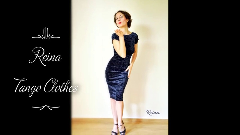 Reina handmade tango clothes