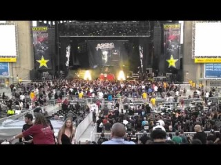 Asking Alexandria - Live at Rockstar Energy Drink Mayhem Festival, Jones Beach, NY 07/30/2014 part 2