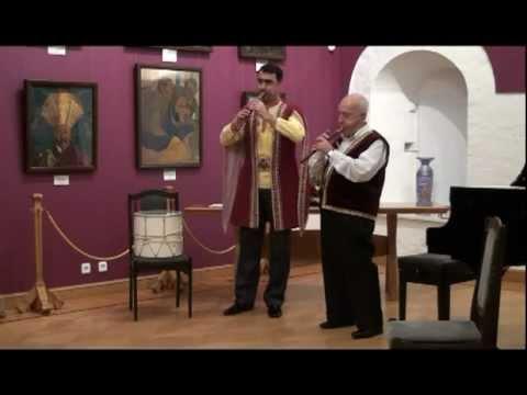 Քոռ աշուղի եռքը Песня слепого ашуга Музей Рериха