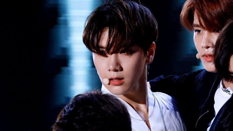 180908 KOREAN MUSIC WAVE - NCT TEN 텐 'Black on Black'