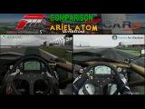 Forza MotorSport 5 Vs Project Cars - Ariel Atom @ Silverstone Comparison Graphics
