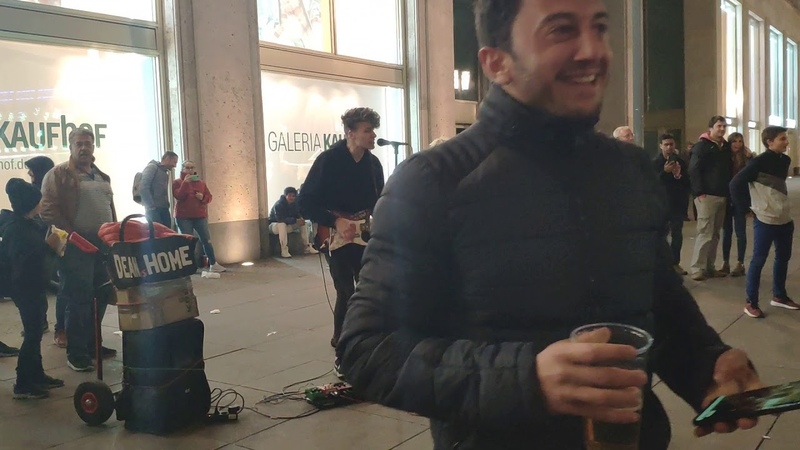 AlexanderPlatz street Performers in Berlin Germany - 5