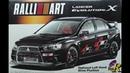 Mitsubishi Lancer Evo X Ralliart Version Aoshima 1 24