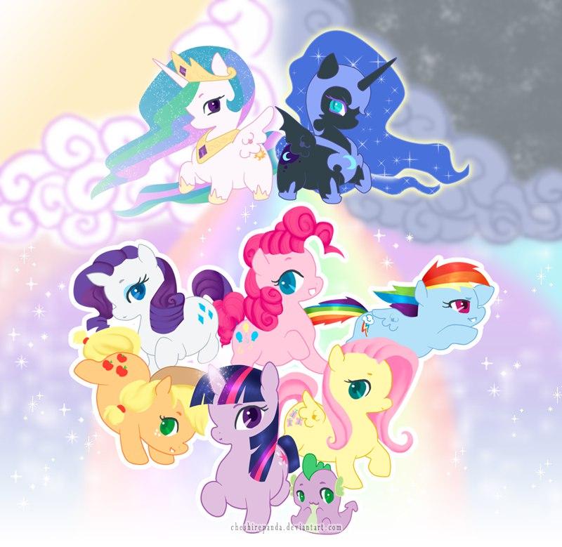 Пони Рэйнбоу и Пинки Путешествие (Rainbow Dash y Pinkie Pie Journey)