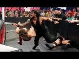 Roman Reings amp Seth Rollins vs Daniel Bryan amp Randy Orton - WWE Payback - Highlights HD