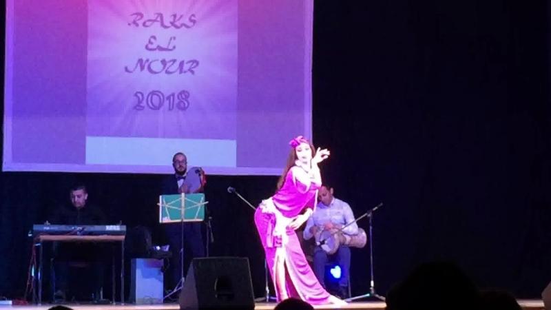 Галайко Ольга. Raks el Nour 2018. Baladi Band. baladi taksim