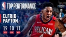 Elfrid Payton Records His 5th STRAIGHT Triple Double March 18 2019 NBANews NBA Pelicans