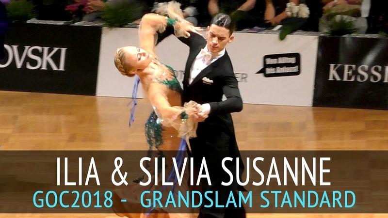 Ilia Rotar Silvia Susanne Barjabin Медленный фокстрот GOC2018 GrandSlam STANDARD