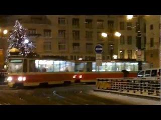 ČKD Tatra T3 & T6 in winter