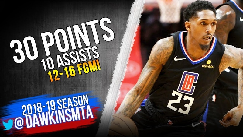 Lou Williams Full Highlights 2019.02.13 Suns vs Clippers - 30 Pts, 10 Asts, 12-16 FGM! | FreeDawkins